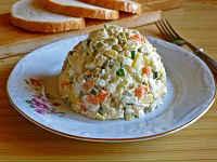 столичный салат рецепт классический