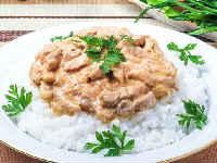 свиной бефстроганов пошаговый рецепт