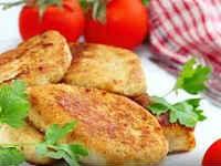 как приготовить куриные котлеты с сыром