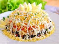 как приготовить салат с горбушей
