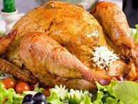 курица запеченная с рисом