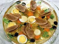 Заливное из свиного языка - вкусный рецепт на праздничный стол