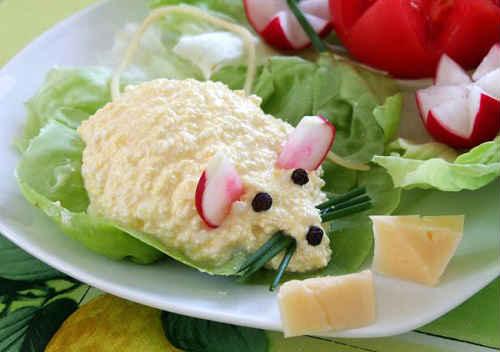 салат на год крысы