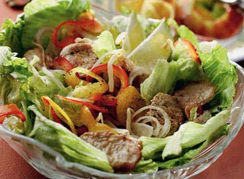 салаты с индейкой рецепты