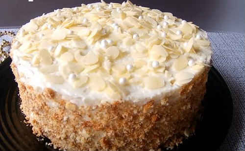 торт пломбир рецепт