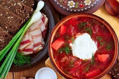 борщ рецепты с мясом