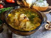 как сварить суп с сушеными грибами