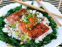 горбуша запеченная с рисом рецепт