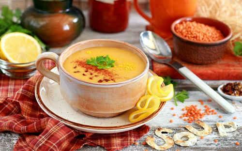 как сварить суп с чечевицей