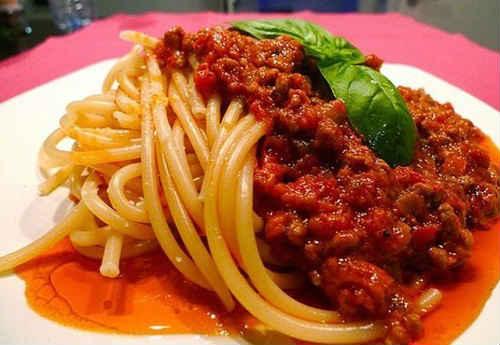 спагетти рецепты