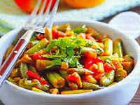 Стручковая фасоль - простые рецепты приготовления на сковороде, в духовке