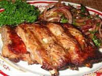 Свиные рёбрышки, запеченные в духовке - лучшие простые рецепты