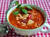 как варить суп с фасолью
