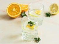 как заготовить березовый сок с апельсином