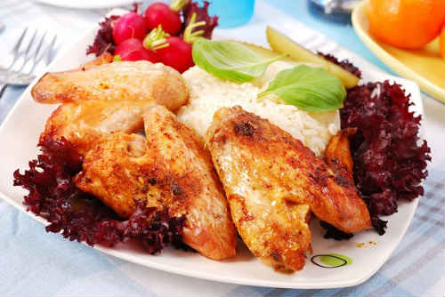 куриные крылья рецепты