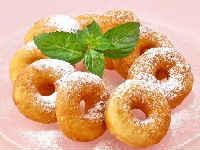 пончики на дрожжах