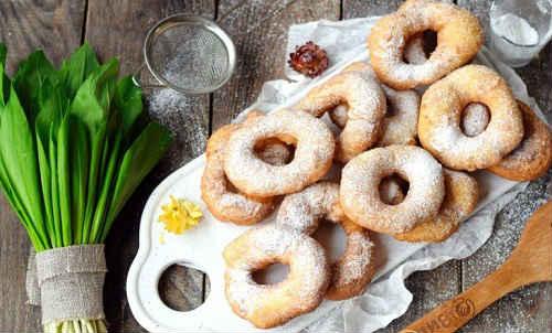 пышные дрожжевые пончики