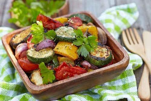 рецепт свинины с овощами