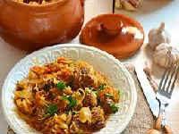 рецепты тушеной капусты со свининой