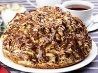 торт из пряников и бананов со сметаной рецепт