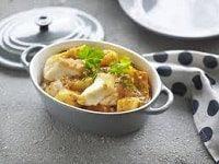 треска запеченная в духовке с картошкой