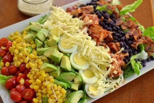 классический рецепт салата кобб