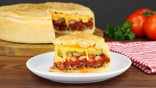 пирог Чизбургер рецепт в домашних условиях