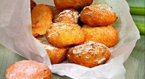 пончики из творога жареные а масле