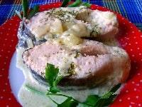 Горбуша в сметане в духовке - лучшие рецепты запекания красной рыбы