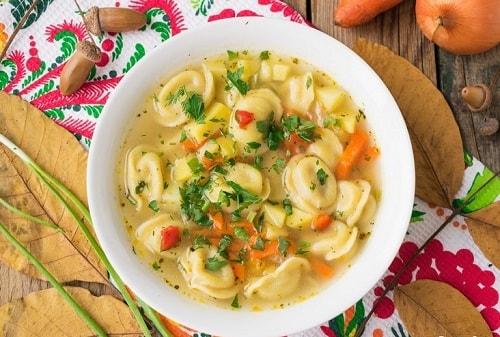 суп с пельменями рецепт