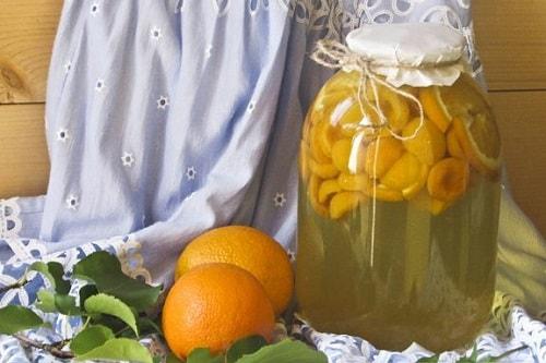 фанта из абрикосов рецепт на зиму