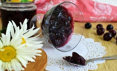 густое варенье из вишни рецепт