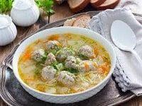 как сварить суп с фрикадельками и вермишелью