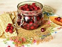 как варить густое варенье из вишни