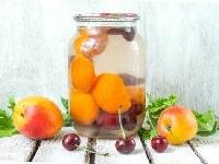 компот из вишни с абрикосами
