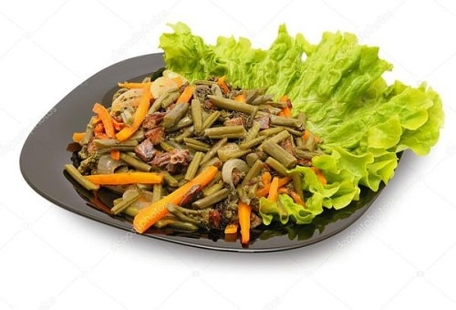 папоротник орляк рецепты салатов