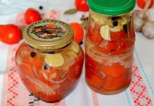 помидоры в желатине без стерилизации