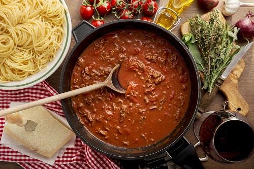 спагетти рецепт с фаршем