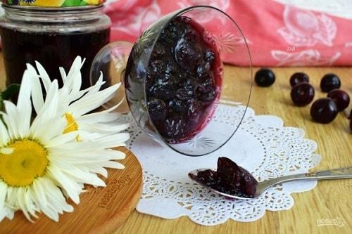 варенье из вишни рецепт с желатином