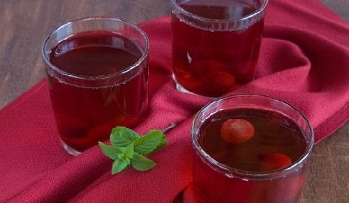 вишневый компот пить сразу