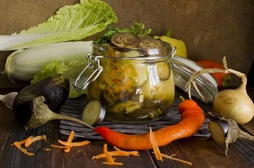 баклажаны жареные с чесноком рецепты