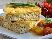 Рисовая запеканка с фаршем в духовке - рецепты с сыром, как в детском саду, в мультиварке