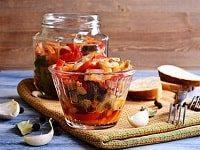 как заготовить салат десятка из баклажанов