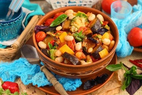 овощное рагу из баклажанов рецепты