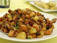 рецепт жареной картошки с грибами