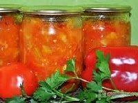 салат анкл бенс из кабачков с помидорами