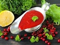 соус из красной смородины рецепт