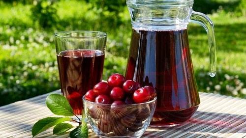 вишневый сок заготовка на зиму