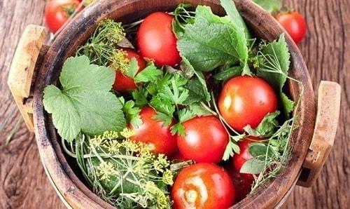 бочковые помидоры на зиму