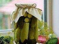 как заготовить огурцы с кабачками